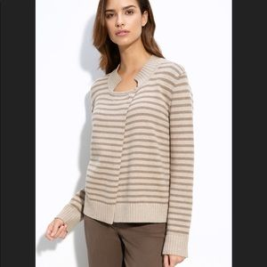 NWT St. John Striped Cardigan from Nordstrom